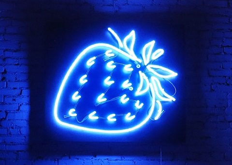 The Blue Strawberry Story