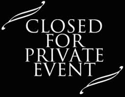 Blue Strawberry is Closed for a Private Event