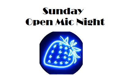 Sunday Open Mic Night